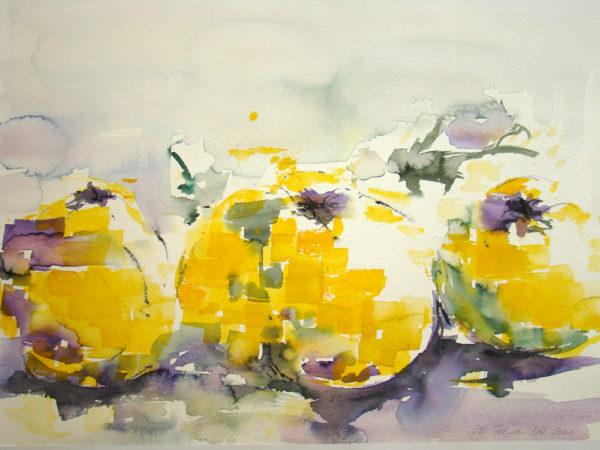 gelb violett